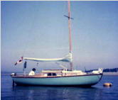 23' Cub, first cabin sailboat, as bought 1969